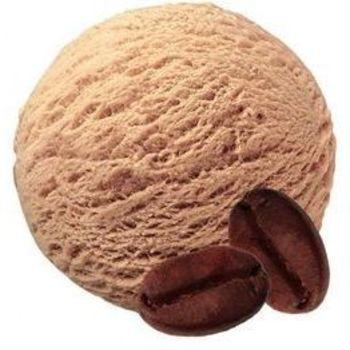Mokka ijs van schapenmelk