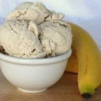 Banaanijs van schapenmelk / liter